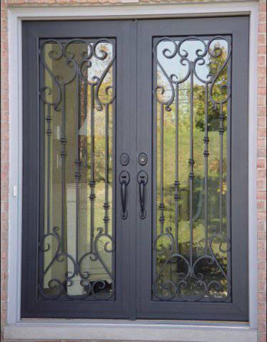 металлические ставни на окна двери